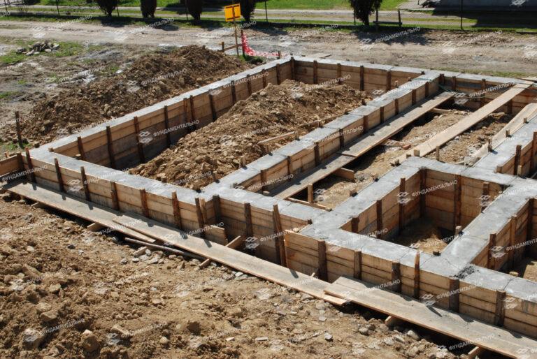 Заглубленный фундамент - фото 2