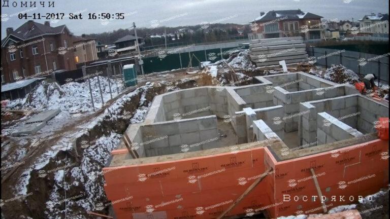 Сборный фундамент с цокольным этажом - фото 2