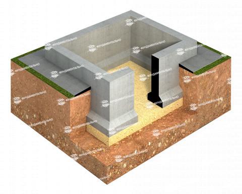 Основные этапы строительства ленточного фундамента - фото 15