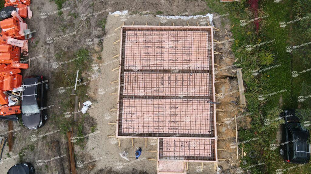 Сборный фундамент с цокольным этажом - фото 11