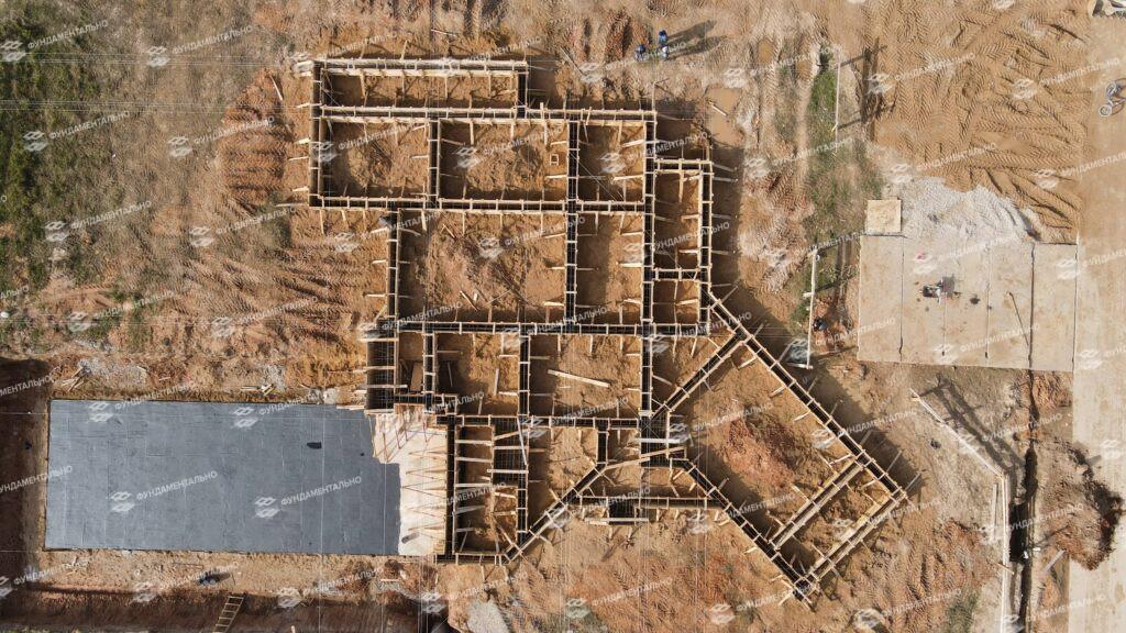 Сборный фундамент с цокольным этажом - фото 13
