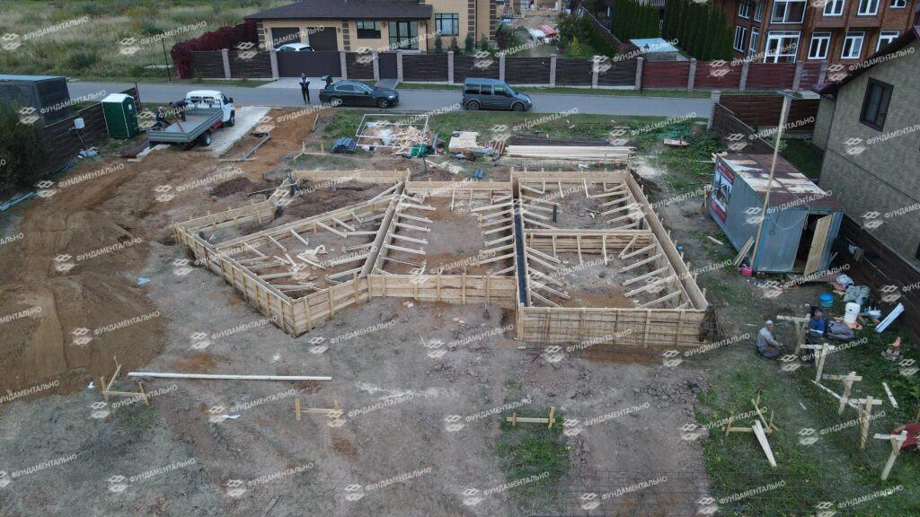 Сборный фундамент с цокольным этажом - фото 14